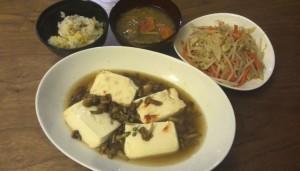 余りモノ+野菜炒め