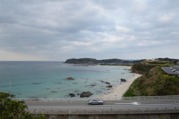 海がとても綺麗